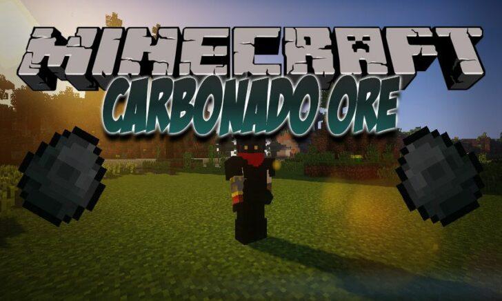 Carbonado Ore - черные алмазы [1.13.2] [1.12.2] [1.11.2] [1.10.2]