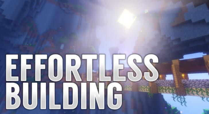 Effortless Building - копируй и вставляй постройки [1.12.2]
