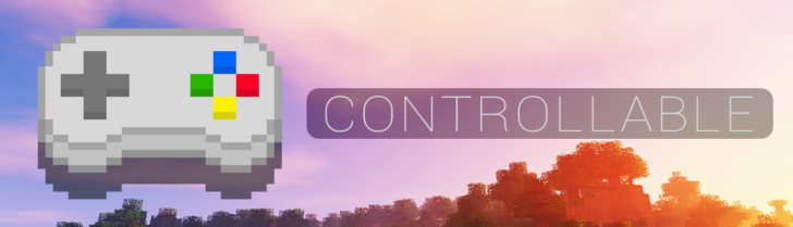 Controllable - поддержка геймпада PS4 [1.12.2]