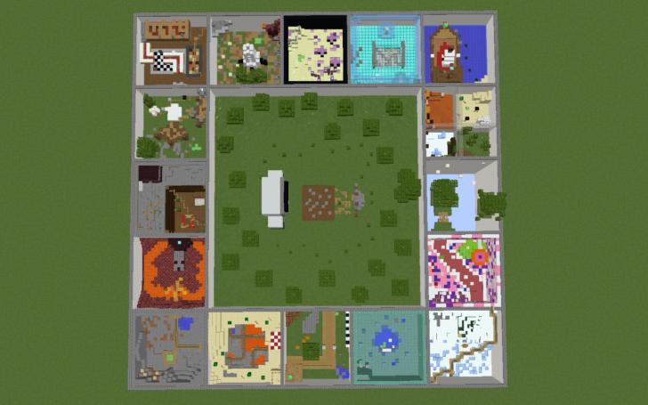 Ring of Parkour - 16 тематических уровней паркура [1.12.2]