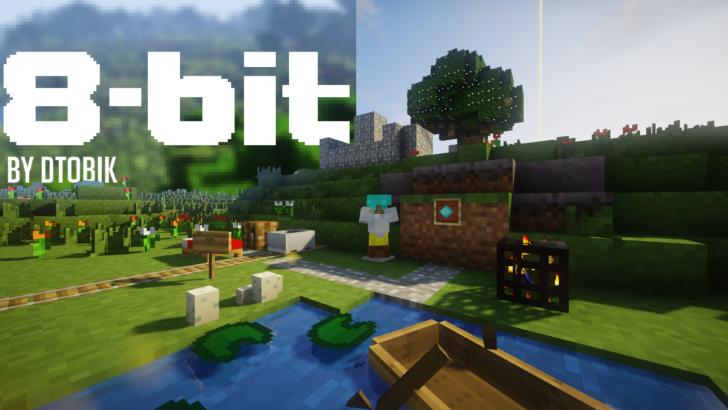 8-bitCraft [1.14.3] [1.13.2] (8x8)