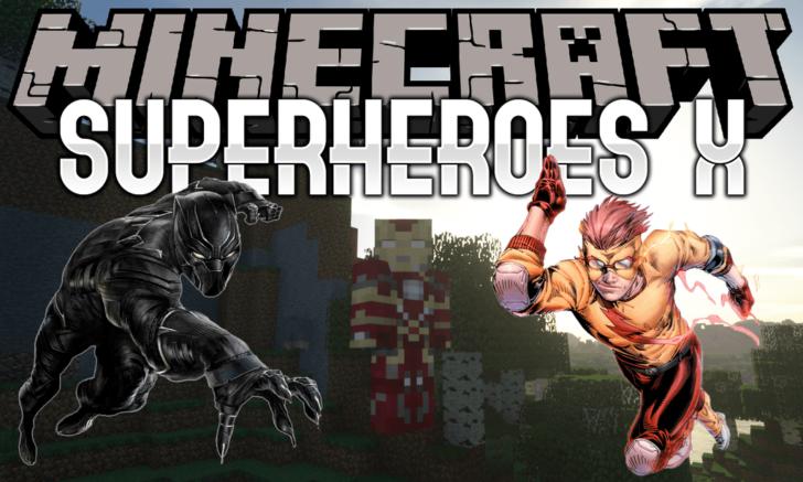 Superheroes X - супергерои Marvel и DC [1.13.2] [1.12.2]