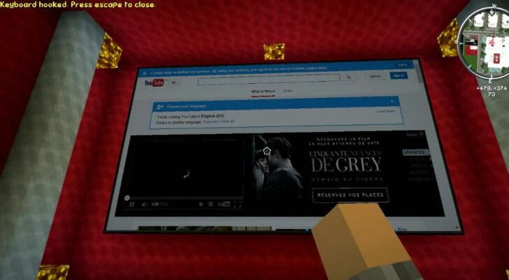Web Displays - Интернет и Youtube в Майнкрафт [1.12.2] [1.10.2] [1.7.10]