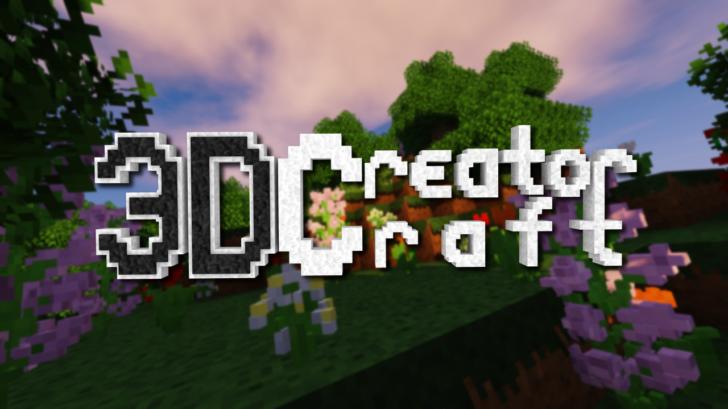 3D CreatorCraft  - 3D ресурс пак [1.14.3] [1.13.2] [1.12.2 - 1.9.4] (16x)