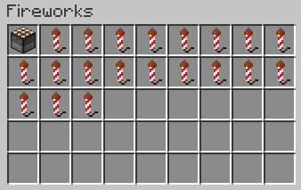 Creative Fireworks - красивые фейерверки [1.13.2] [1.12.2]