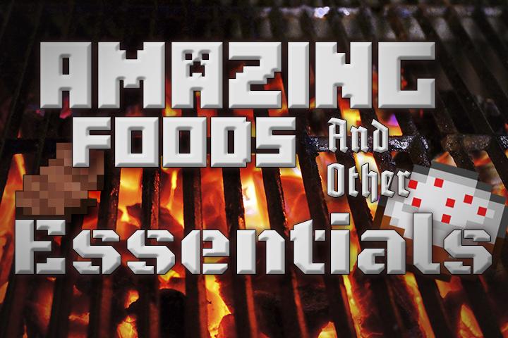 Amazing FoodStuffs - более 100 новых блюд [1.12.2]