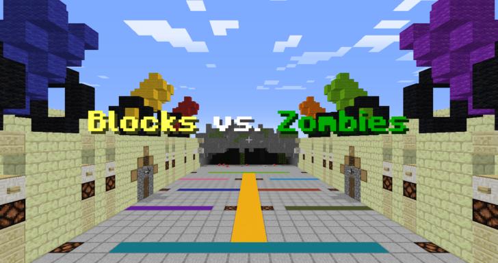 Blocks vs. Zombies - Блоки против Зомби [1.13.2]