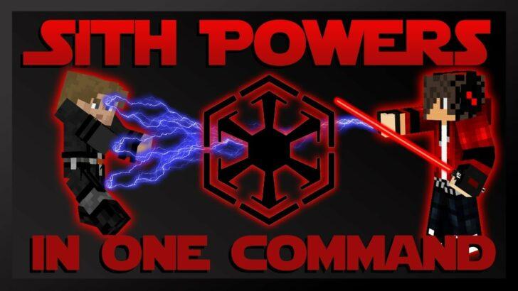 Sith Powers - красный световой меч и способности ситхов [1.12.2]