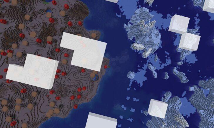 Сид - Грибной остров окруженный айсбергами [1.13.2]