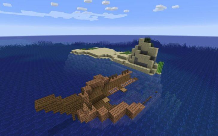 Сид с кораблекрушением на маленьком острове [1.13.2]