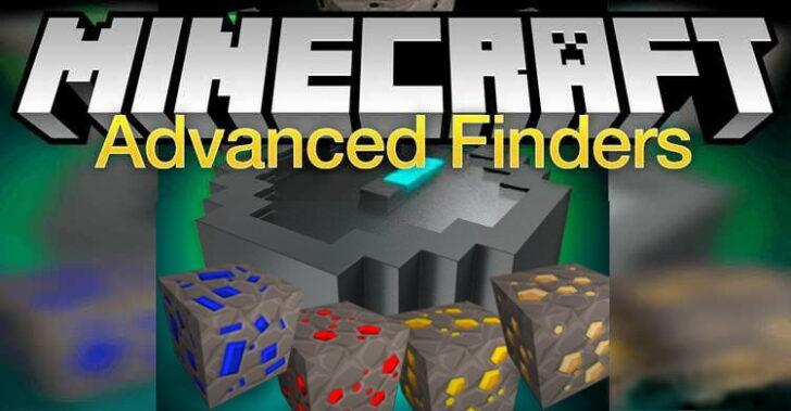 Advanced Finders - компас для поиска руды [1.12.2]