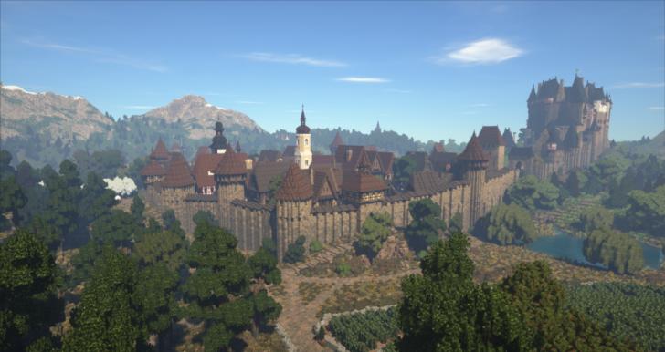 Богатый средневековый город [1.12.2]