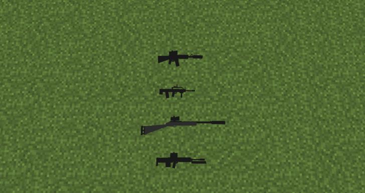 PUBGMC -  броня, оружие и снаряжение из PUBG [1.12.2]