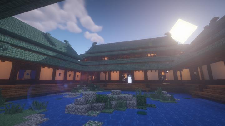 Kaiyo Onsen - традиционный японский дом [1.13.2]
