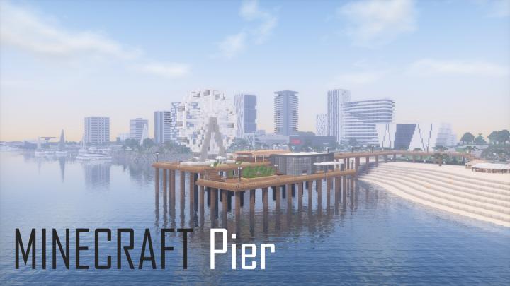 Pier - реалистичная пристань [1.12.2]