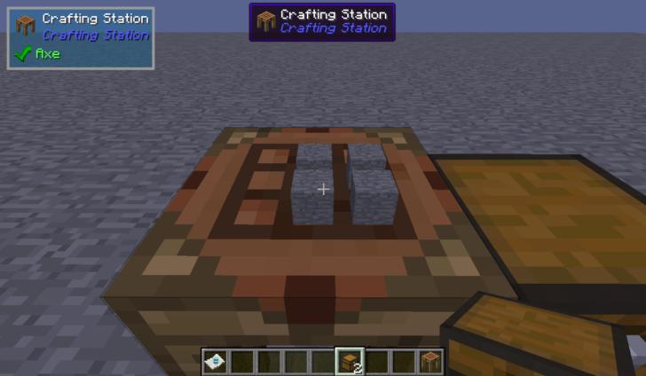 Crafting Station [1.14.4] [1.12.2] (станция крафта из Tinkers' Construct)