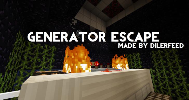 Generator Escape - подземная атомная электростанция [1.13.2]