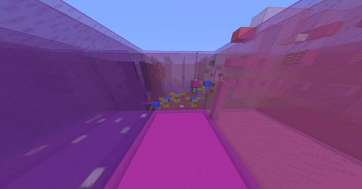 Colorful Parkour - цветастый паркур [1.12.2]