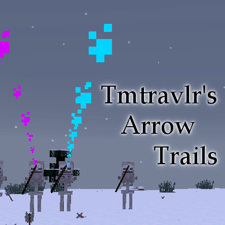 Arrow Trails [1.12.2] [1.8] [1.7.10] (цветной след стрел)