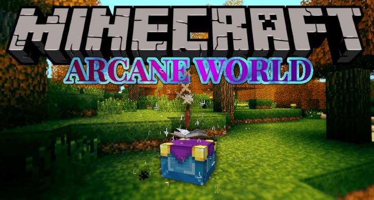Arcane World - ритуальная магия [1.12.2]