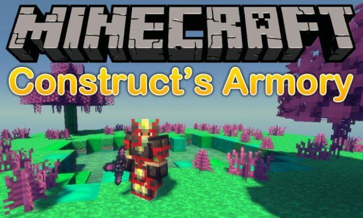 Constructs Armory [1.12.2] (новые комплекты брони)
