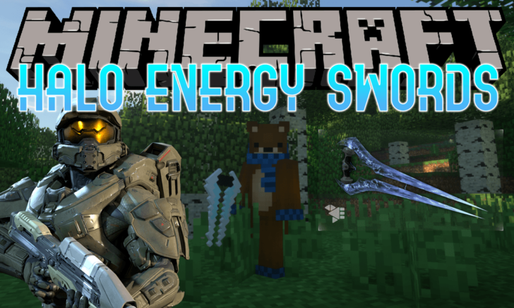 Halo Energy Swords - энергетические мечи [1.12.2]
