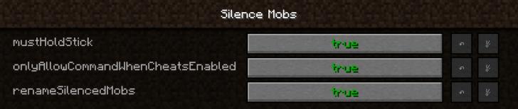 Silence Mobs - беззвучные мобы [1.13.2] [1.12.2] [1.11.2]