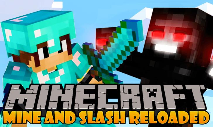 Mine and Slash Reloaded [1.12.2]