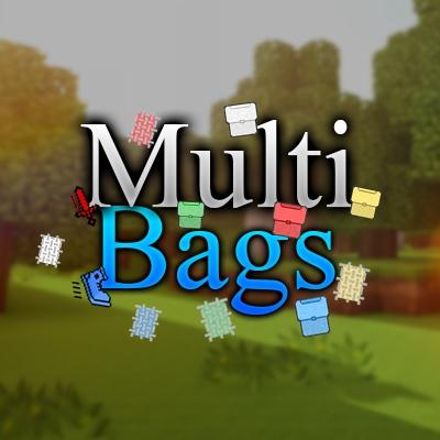 MultiBags - красивые рюкзаки [1.13.2] [1.12.2]
