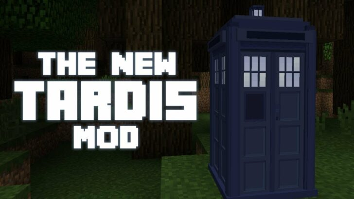 New Tardis [1.12.2] (Тардис Доктора Кто)
