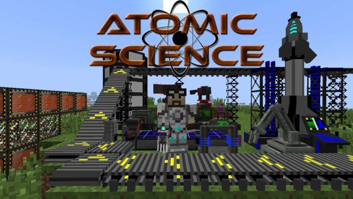 Atomic Science - реалистичные ядерные реакторы [1.12.2] [1.7.10]