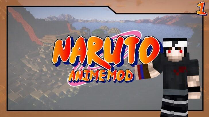 Naruto Anime - Наруто в Майнкрафт [1.7.10]