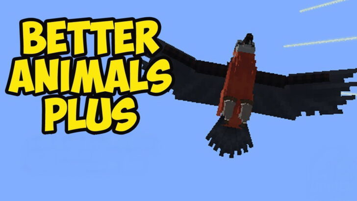 Better Animals Plus - новые реалистичные животные [1.12.2]