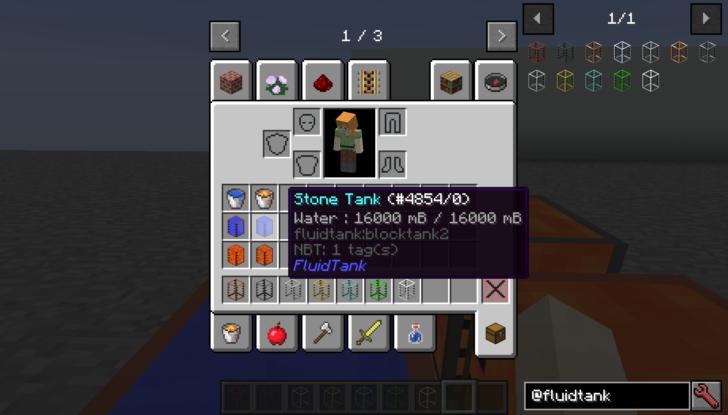 Large Fluid Tank [1.14.3] [1.13.2] [1.12.2] (баки для жидкостей)