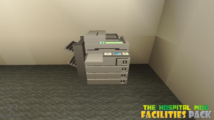 Hospital - Facilities Pack (декор для больницы) [1.12.2]
