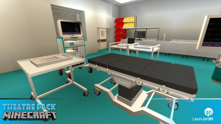 Hospital - Theatres Pack (реалистичная больница) [1.12.2]
