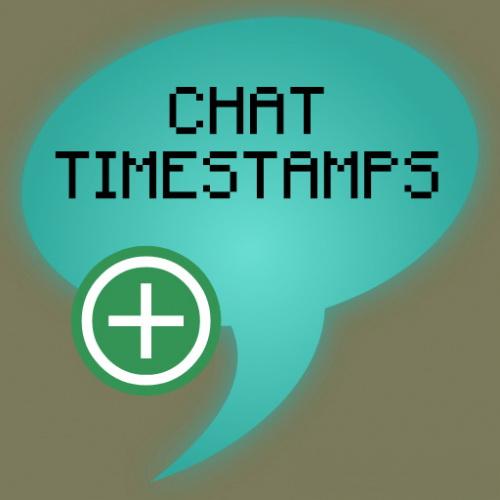 Chat Timestamps - метки времени в чате [1.14.1] [1.14]