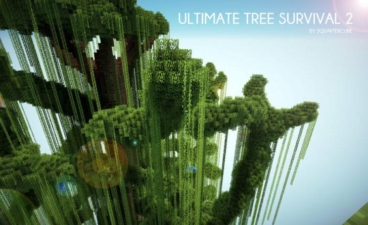 Ultimate Tree Survival 2 - выживание на дереве [1.12.2]