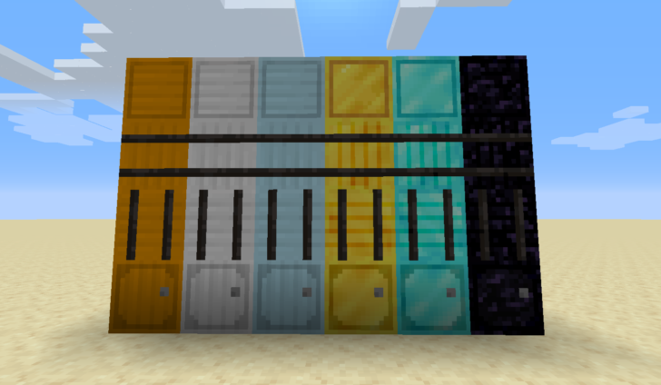 Metal Barrels [1.14.4] - металлические бочки для блоков