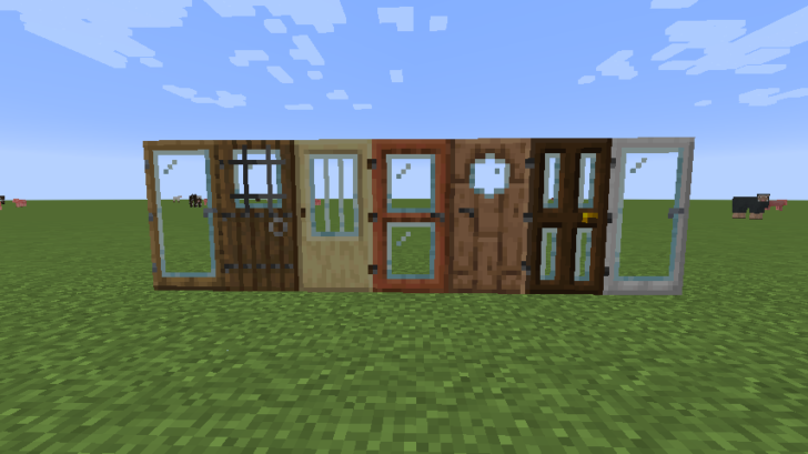 Modern Glass Doors [1.14.3] (современные стеклянные двери)