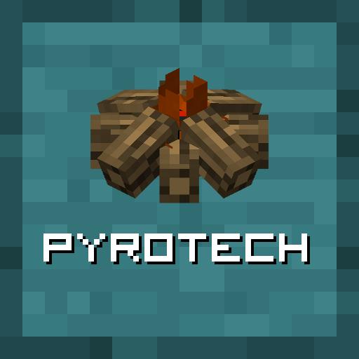 Pyrotech [1.12.2] (примитивные механизмы и инструменты)