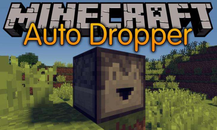 Auto Dropper [1.14.3] [1.13.2] [1.12.2] (автоматический выбрасыватель)