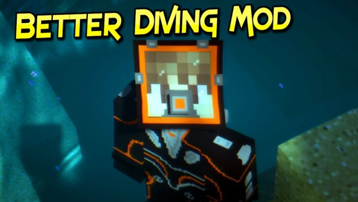 Better Diving [1.12.2] [1.11.2] [1.10.2] (гидрокостюм, баллоны с воздухом)