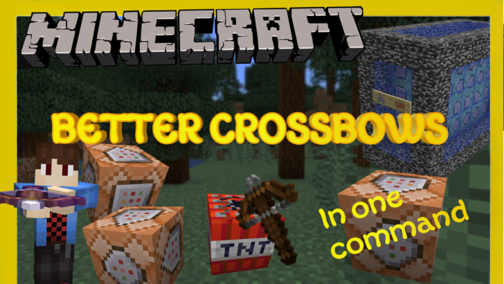Команда Better Crossbows [1.14.3] (6 новых арбалетов)