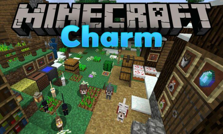 Charm мод [1.14.4] [1.12.2] (60 мелких улучшений игры)