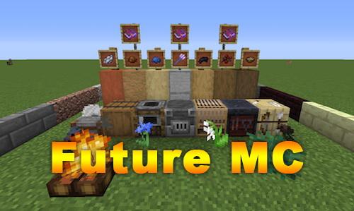 Future MC [1.12.2] (предметы из новых версий игры)