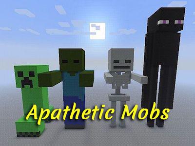 Apathetic Mobs [1.12.2] (неагрессивные мобы)