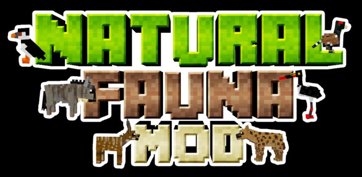 Natural Fauna [1.12.2] (18 животных)
