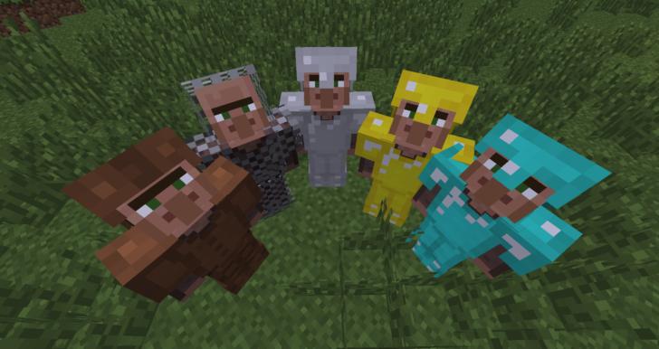 Helpful Villagers [1.7.10] (умные деревенские жители)