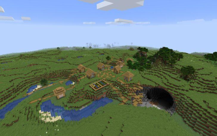 Сид - метеоритный кратер недалеко от деревни [1.14.3]